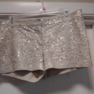 Express Sequin Shorts Size 4